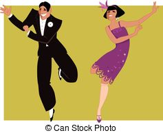 Flapper Dancer Clipart Clipart Suggest