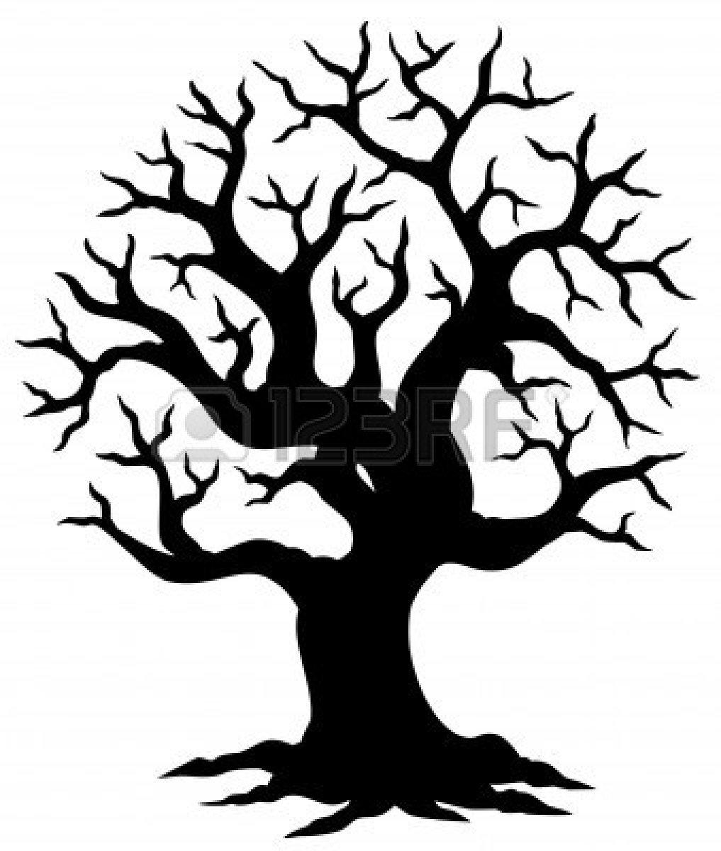 art-family-tree-outline-christmas-tree-outline-clip-art-hollow-tree ...