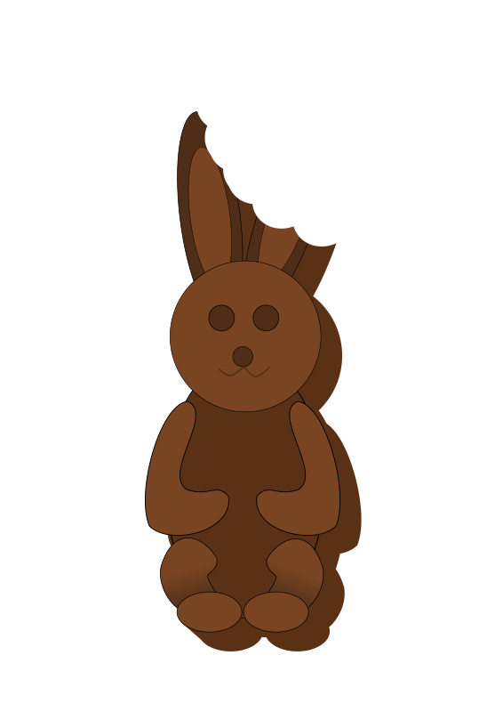Chocolate Bunny By Logoscambodia