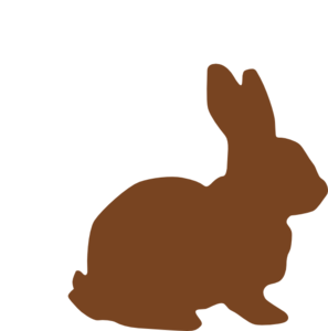 Chocolate Easter Bunny Clipart - Clipart Kid