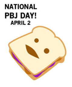 Day Enjoying The All American Sandwich  April 2 Is National Peanut