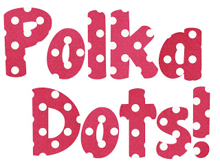 Polka Dot Font Clipart - Clipart Kid