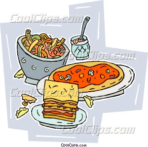 Italian Food Vector Clip Art