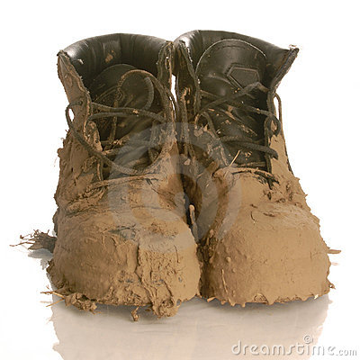 Muddy Boots Clipart Muddy Boots Stock Photo