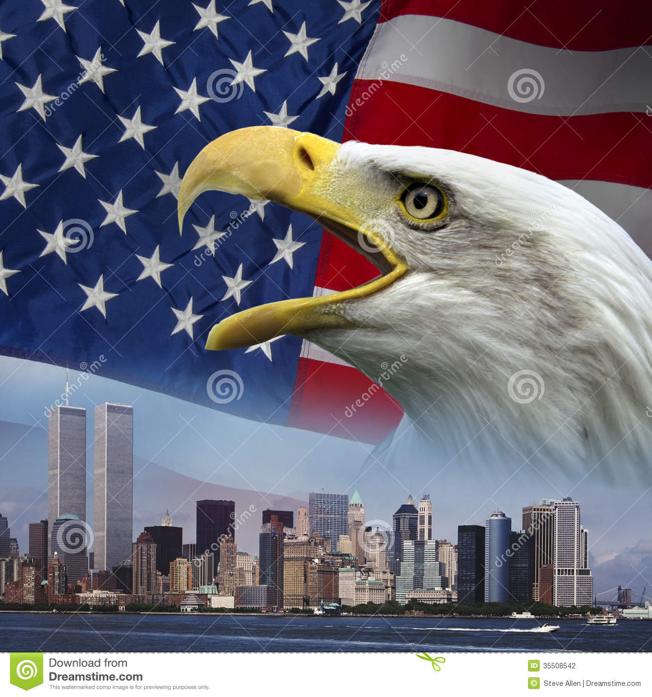 New York   Remember 9 11   Patriotism Stock Photography   Image