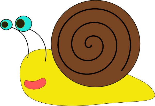 Snail 3 Clip Art At Clker Com   Vector Clip Art Online Royalty Free