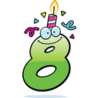 5th Birthday Clipart Cartoon Birthday Number