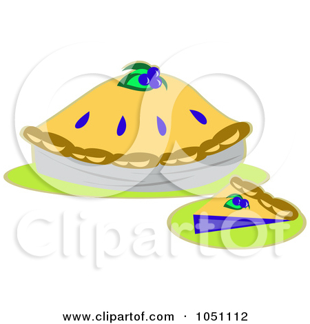 Blueberry Pie Clip Art Free