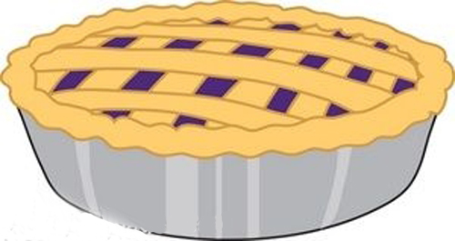 Blueberry Pie Cute Clipart - Clipart Suggest