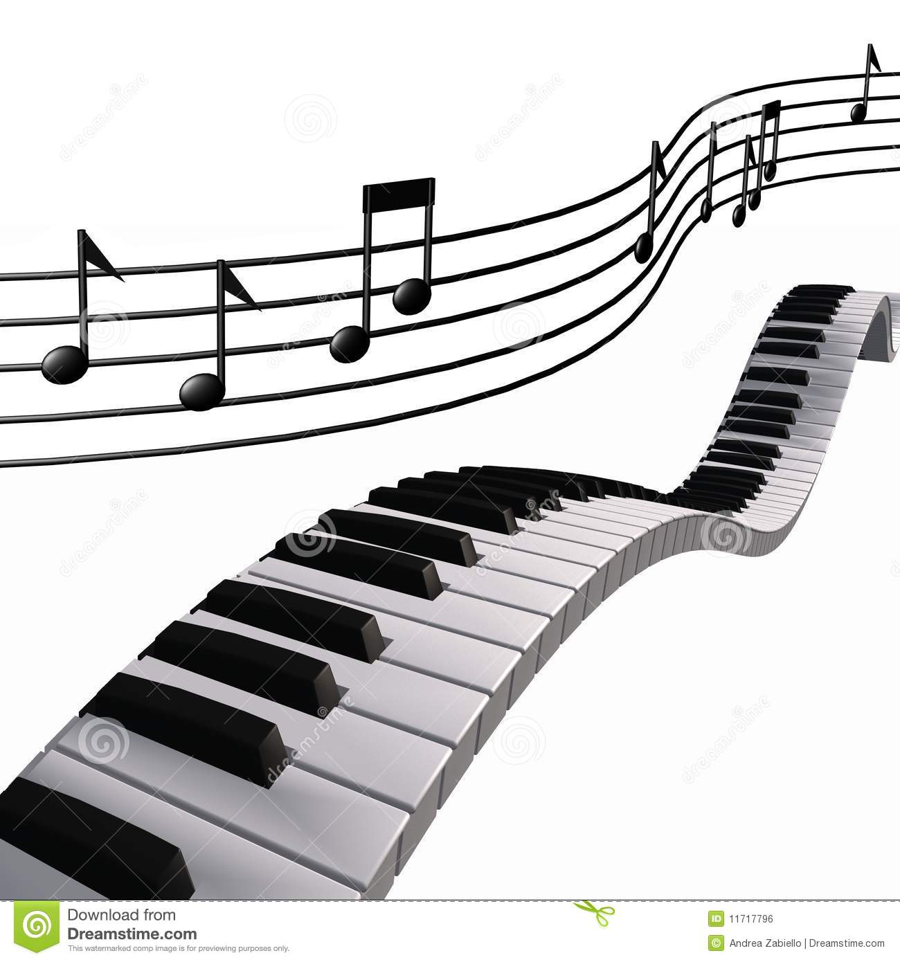 Colorful Piano Notes Clipart   Cliparthut   Free Clipart