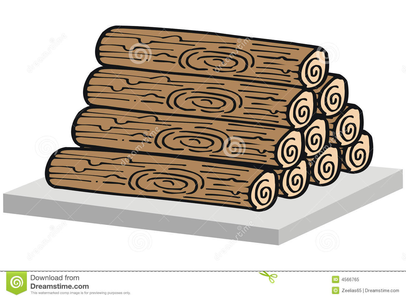 Timber Clip Art ~ Wood pile clipart suggest