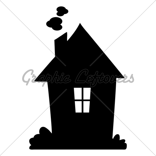 House Silhouette   Gl Stock Images