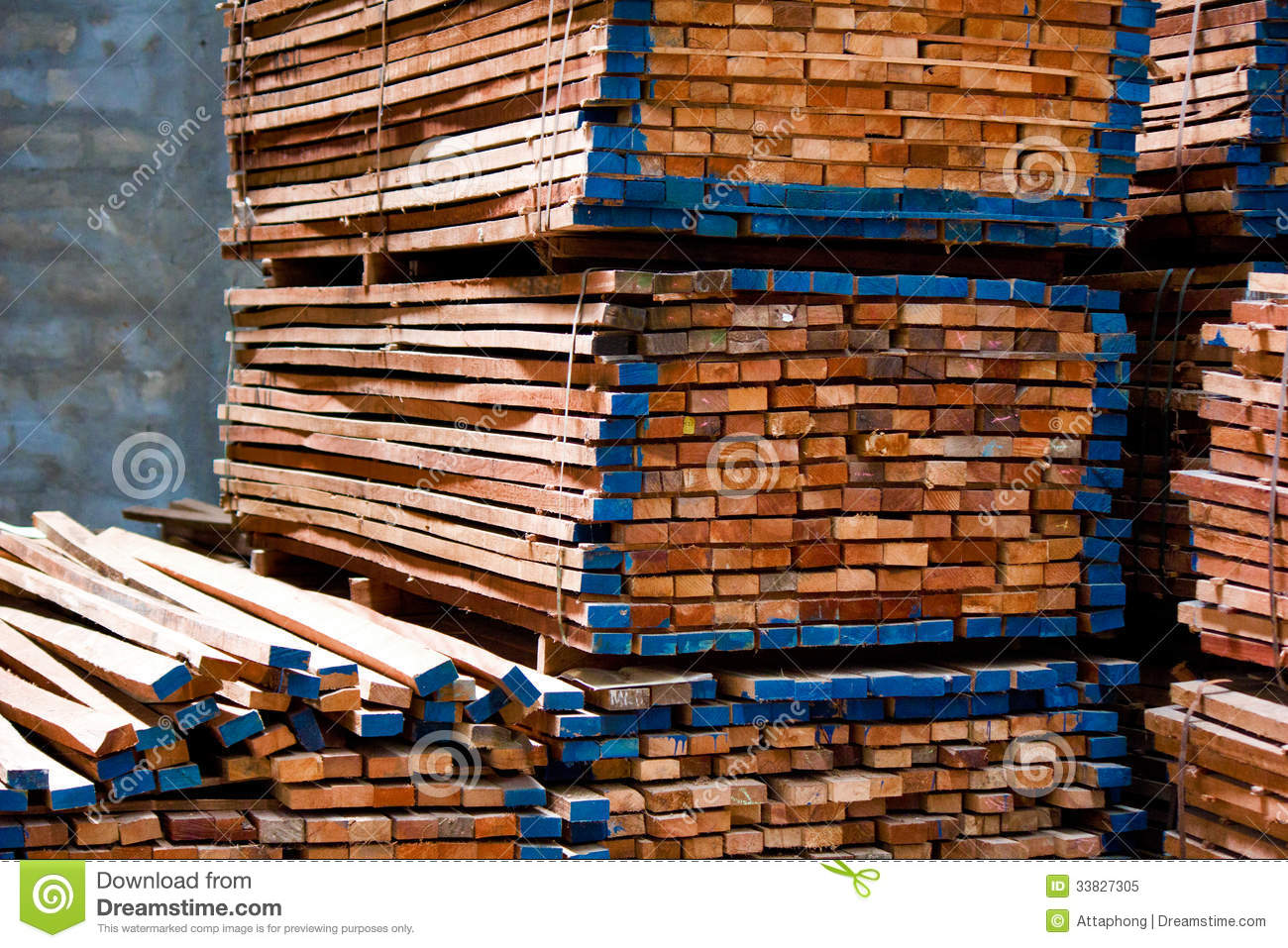Lumber Pile Royalty Free Stock Photo   Image  33827305