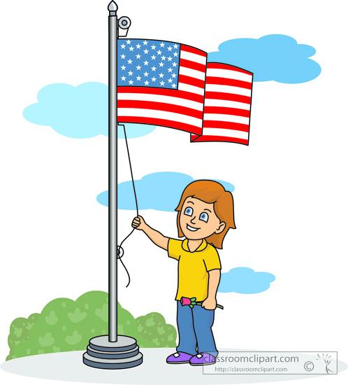 School Flag Pole Clipart flagpole clipart - clipart kid