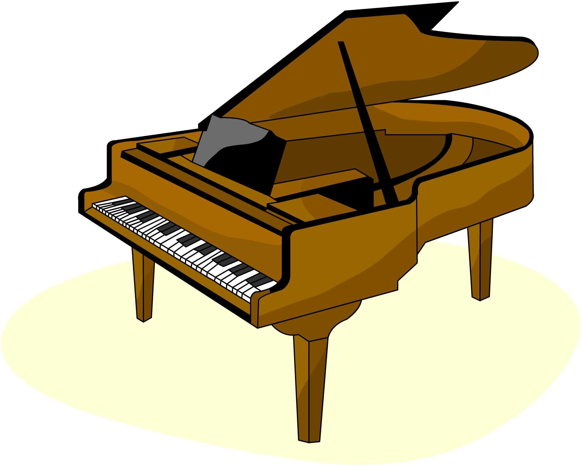 Piano Notes Clipart   Clipart Panda   Free Clipart Images