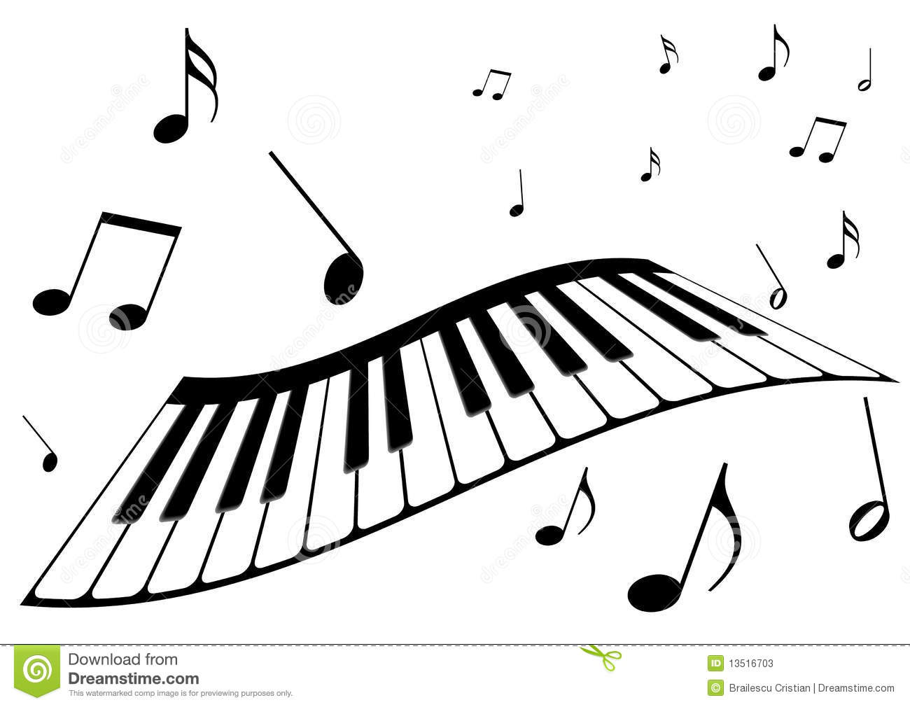 Piano Notes Clipart Images For Gt Piano Notes Clip