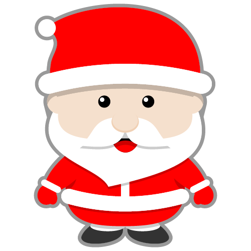 Cute santa clipart suggest