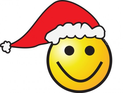 Christmas Happy Face Clipart - Clipart Kid