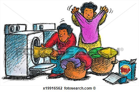 Clip Art   Laundry  Fotosearch   Search Clipart Illustration Posters
