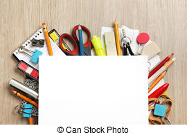 Cluttered Desk Illustrations And Clipart