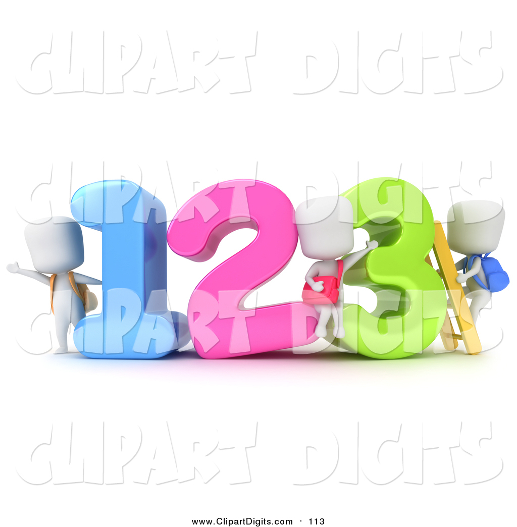 Colorful Numbers October 25th 2015 Colorful Numbers And Math Symbols