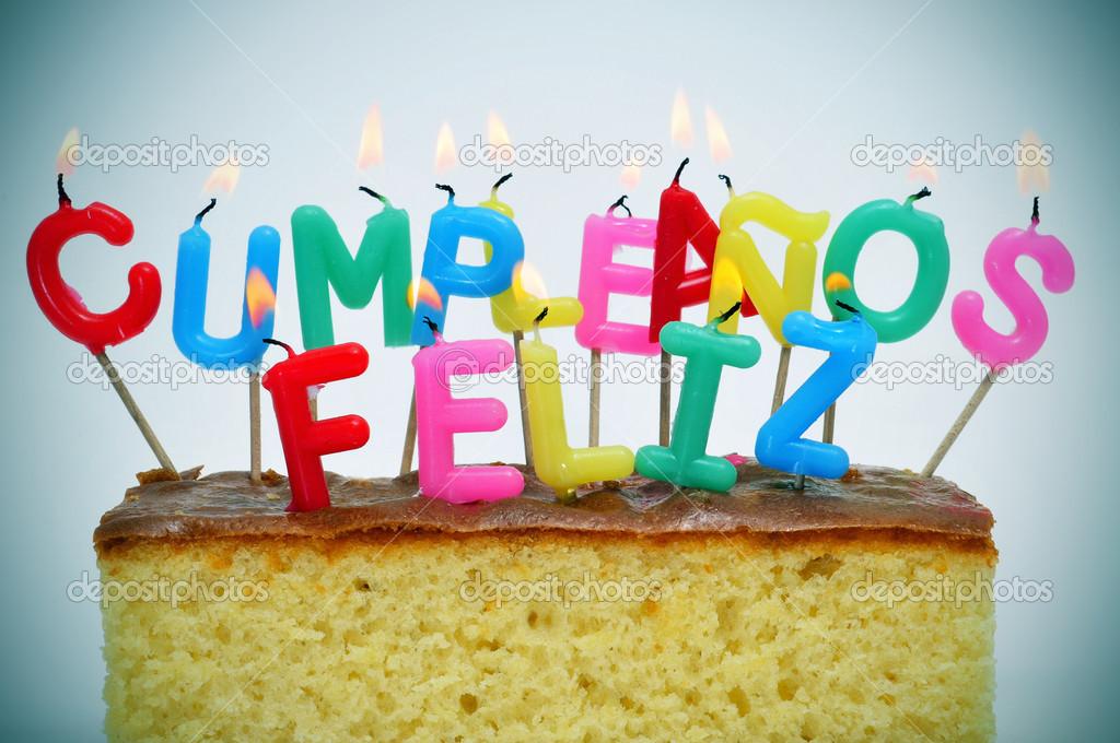 Happy birthday in spanish clipart clipart kid