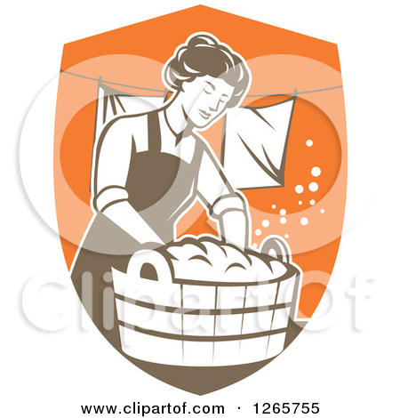 Doing Laundry Clip Art Clipart