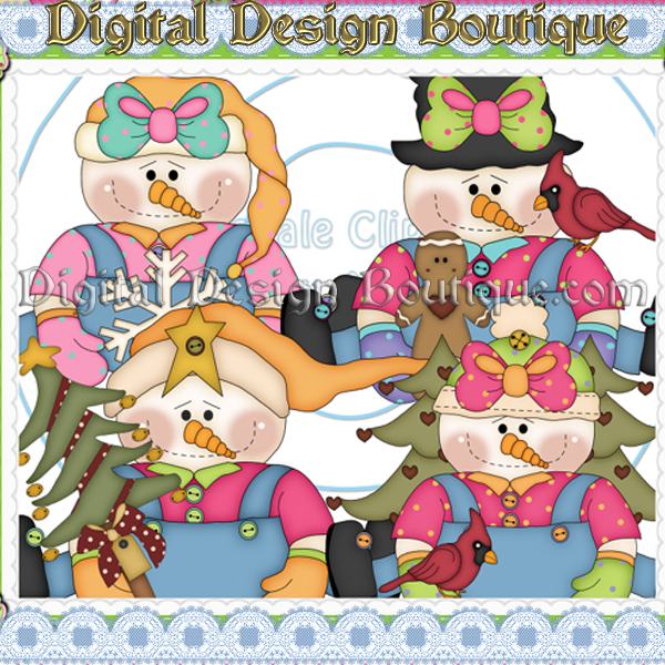 Home    Resale Or Commercial Use Clipart Non Exclusive    Snowy Girls