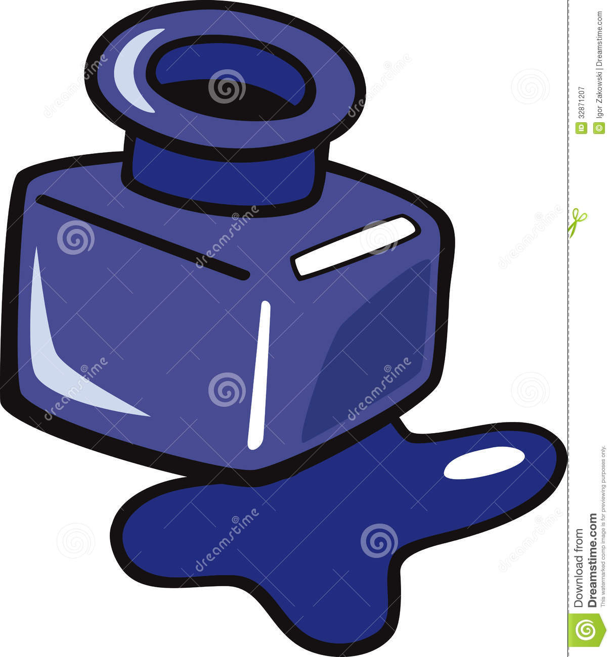 Ink Bottle Clipart - Clipart Suggest
