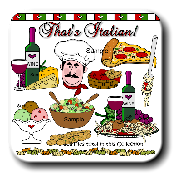 Italian Food Clipart Images   Pictures   Becuo