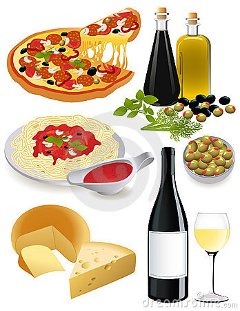 Clip Art Italian Food Clipart italian food clipart kid royalty free stock photography image 8609357