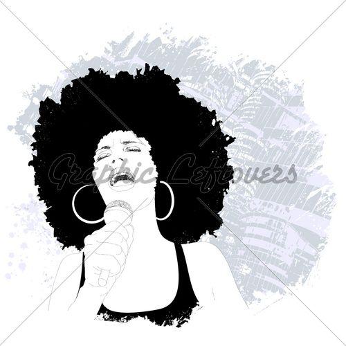 Jazz Singer   Black Art   Pinterest