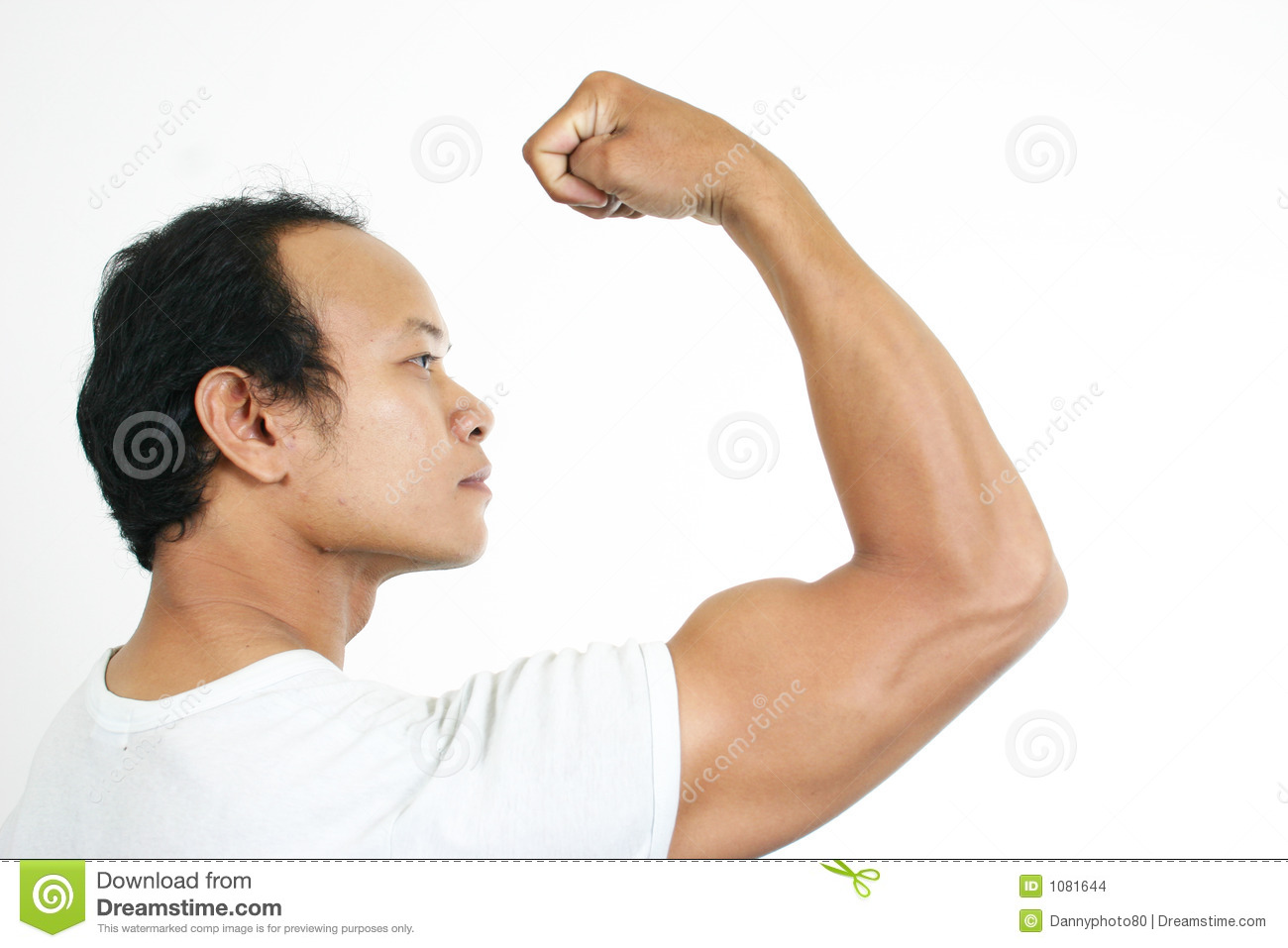 Muscle Guy 1 Stock Images   Image  1081644