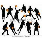 Native Basketball Score Clipart