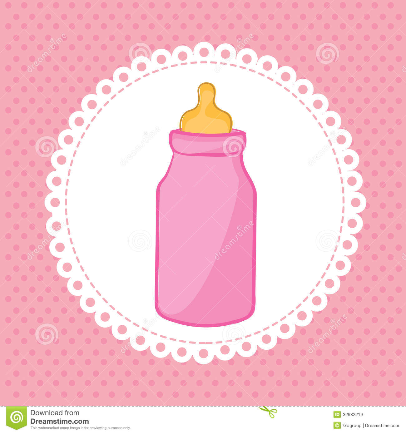Pink Baby Bottle Clipart - Clipart Suggest
