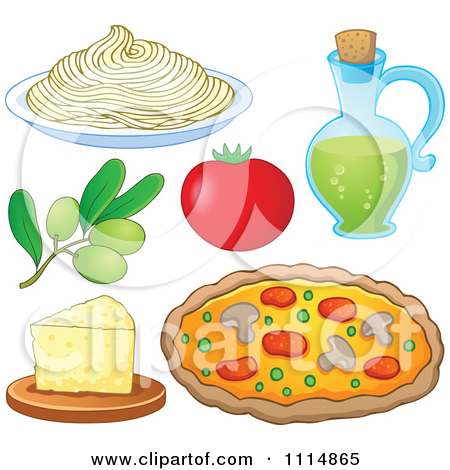 Royalty Free  Rf  Italian Food Clipart Illustrations Vector Graphics