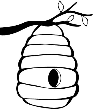 Clip Art Bee Hive Clip Art bee hive outline clipart kid 10 beehive drawing free cliparts that you can download to computer