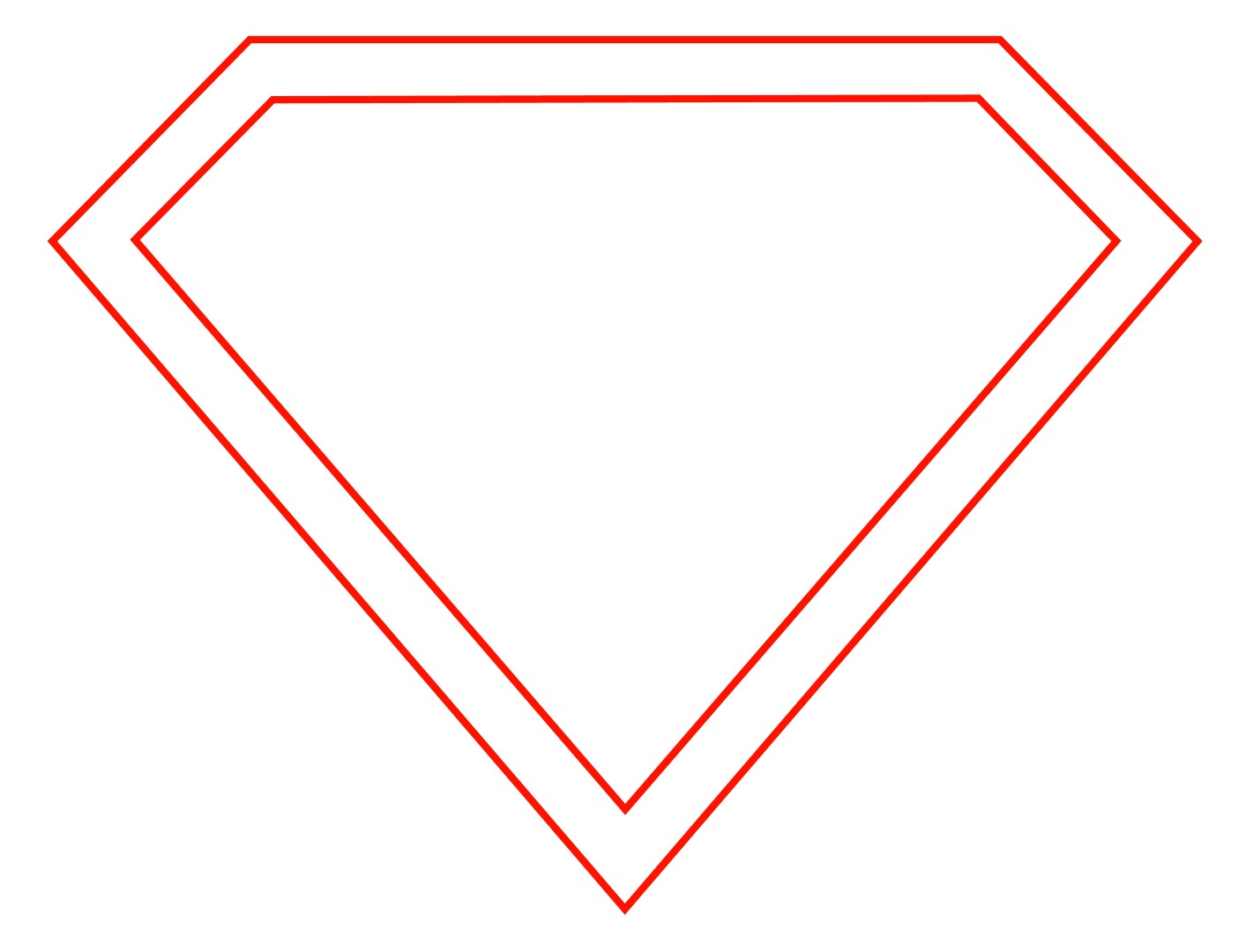 11 Blank Superman Logo Template Free Cliparts That You Can Download To