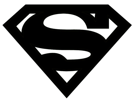 14 Superman Logo Silhouette Free Cliparts That You Can Download To You