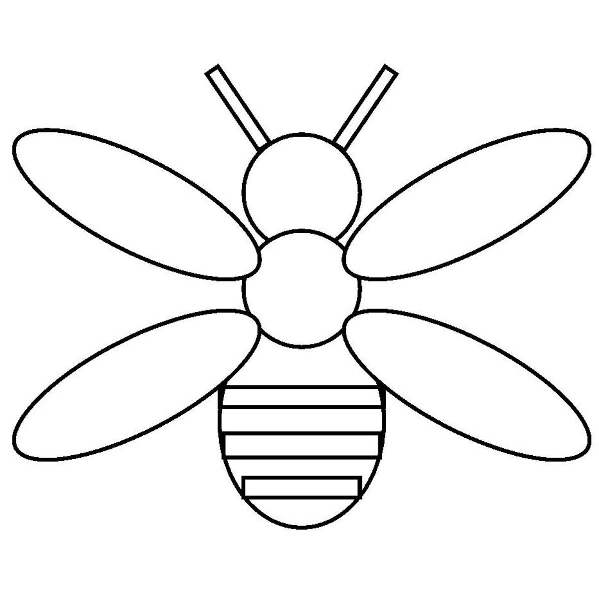 Line Art Bee : Bee hive outline clipart suggest