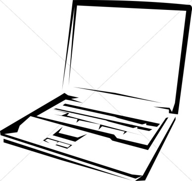 Laptop Black And White   Clipart Panda   Free Clipart Images