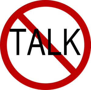 No Talk Clip Art At Clker Com   Vector Clip Art Online Royalty Free