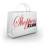 Shoppers Club Shopping Bag Store Buying Customer Product Service Stock