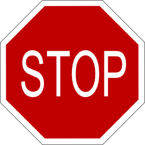 Stop Sign Clip Art At Clker Com   Vector Clip Art Online Royalty Free