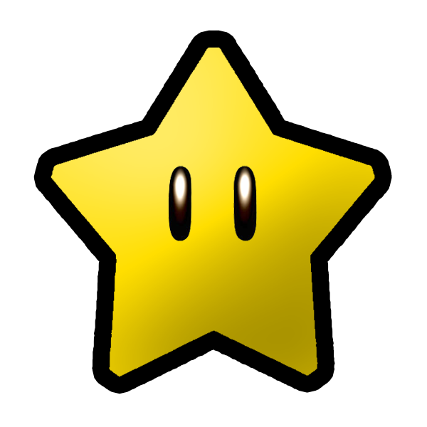 17 Mario Stars Free Cliparts That You Can Download To You Computer And