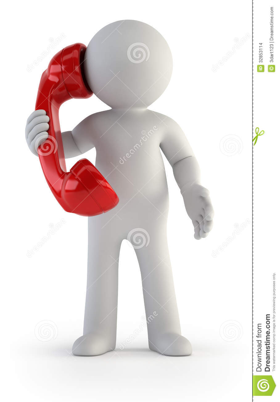 People On Phone Clipart - Clipart Suggest