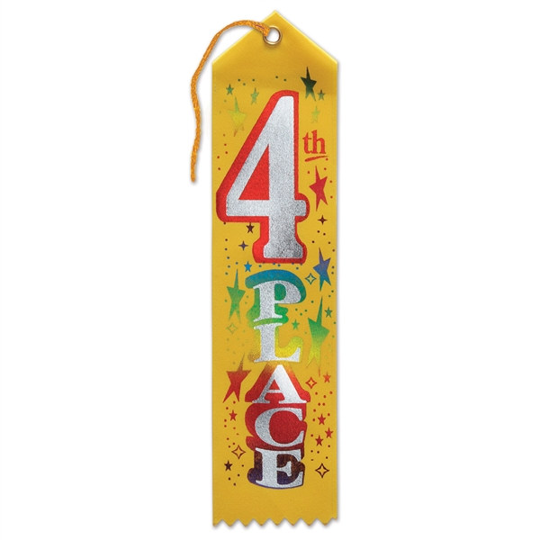 Image result for fourth place ribbon
