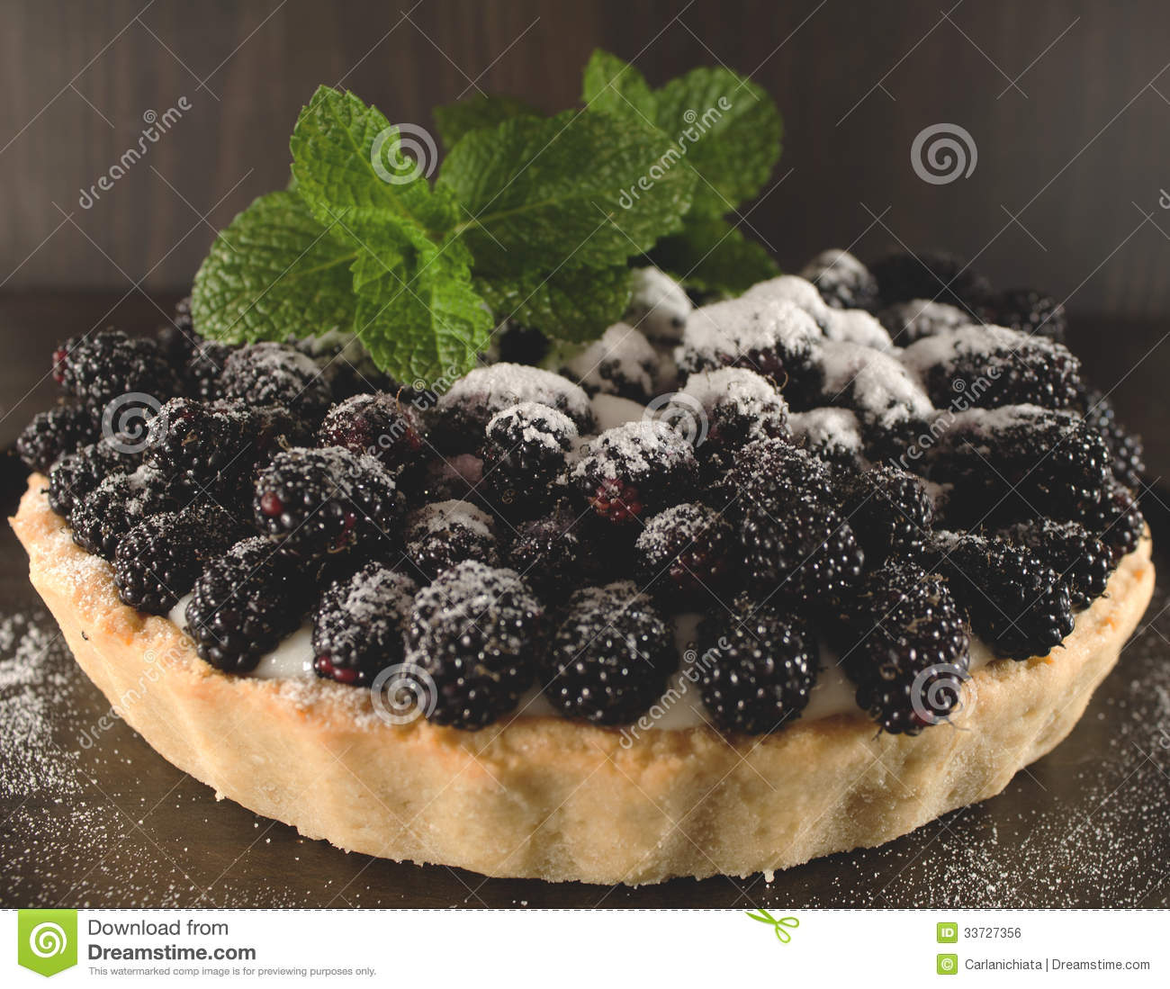 Blackberry Pie Royalty Free Stock Image   Image  33727356