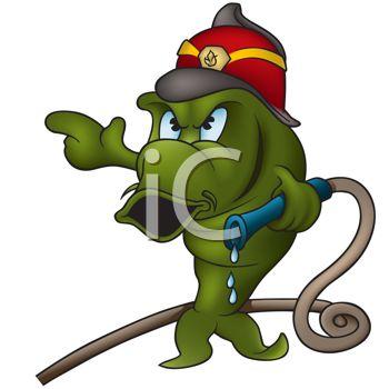 Fire Fighter Cartoon Clipart - Clipart Kid