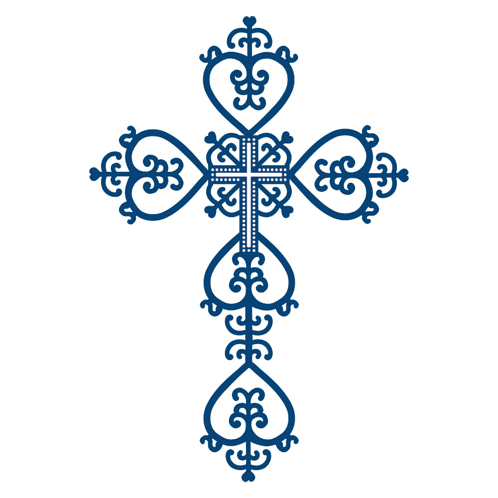 Filigree Cross Clipart - Clipart Suggest